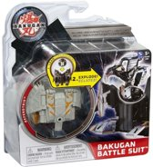 Bakugan Battle suit: defendtrix grijs