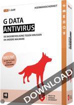 G Data Antivirus 2015 ESD 5 pc 1 jaar NL