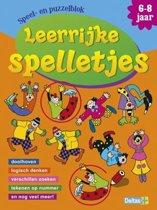 Speel- en puzzelblok Leerrijke spelletjes 6-8 jaar