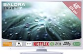 Salora 49LED9112CSW - Led-tv - 49 inch - Full HD - Smart tv - Wit