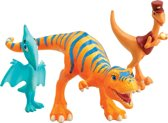 Dinosaurus Trein Verzamel pakket - Dolores, Meneer de Conducteur, Shiny