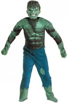 Incredible Hulk kostuum voor jongens 10-12 jaar