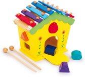 Base Toys Houten Huis van Geluid en Activiteit