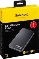 Intenso Memory Play USB 3.0 1TB - Externe harde schijf / Zwart