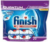 Finish Powerball Quantum Tabs - 20 stuks - Vaatwastabletten
