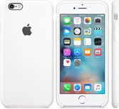 Apple iPhone 6/6S silicone hoesje - wit