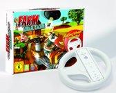 Farm Animal Racing + Racing Wheel