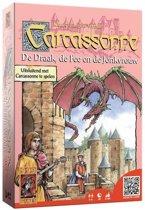 Carcassonne:  De Draak, De Fee en de Jonkvrouw uitbreidingset - Bordspel