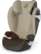 Cybex - Solution M - Autostoel groep 2,3 - Limestone - khaki brown