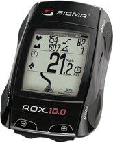 Sigma Rox 10.0 GPS - Fietscomputer / Hartslagmeter - Exclusief zender - Zwart
