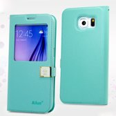 Deere Ailun Thin Wallet case hoesje Samsung Galaxy S6 mint