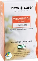 New Care D3 25µ - 100 Capsules  - Vitaminen
