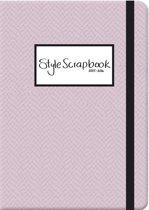 Style Scrapbook schoolagenda 2015-2016