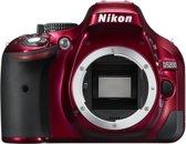 Nikon D5200 Body - spiegelreflexcamera - Rood