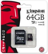 64GB Micro SDXC Kingston class 10