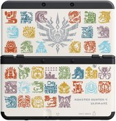 New Nintendo 3DS, Coverplate Monster Hunter 4 Ultimate (White)