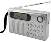 Soundmaster WE320 (silber) Weltempfänger PLL-Radio mit 400 Festsendespeicher (WE320)