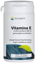 Springfield Vitamine E 400 IE - 90 Softgels