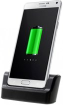 qMust Desktop Dock Samsung Galaxy Note 4 (Black)