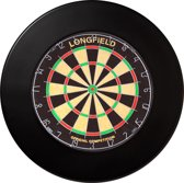 Longfield Dartbord Surround Ring - Zwart