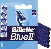 Gillette Blue II - 5 stuks - Wegwerpscheermesjes