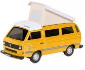 VW T3 Camper, geel