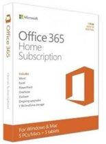Microsoft Office 365 Home Premium 5-PC/MAC 1jaar directe download versie