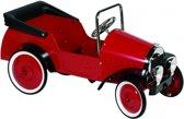 Goki Trapauto met dak rood