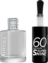 Rimmel London 60 seconds supershine nailpolish - 495 Clear - Nagellak