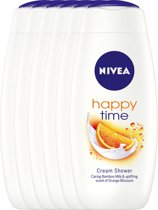 NIVEA Douche Happy Time 400ML voordeelpakket 5+1 gratis
