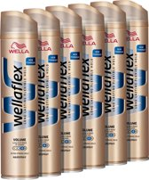 Wella Flex   2nd Day Volume Boost Extra Strong Hold 6x250ml Hairspray