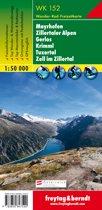 Mayrhofen, Zillertaler Alpen, Gerlos, Krimml GPS