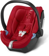 Cybex - Aton 4 - Autostoel groep 0+ - Hot & Spicy- red