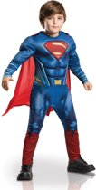 Superman Deluxe Dawn of Justice - Kostuum Kind - Maat 116/122