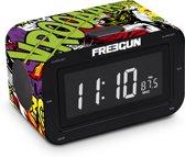 Freegun RR30 - Wekker radio - Strip/Zwart