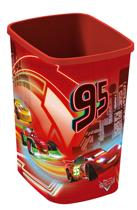Curver Deco flipbin zonder deksel Afvalbak - 10 l - Kunststof - Disney Cars