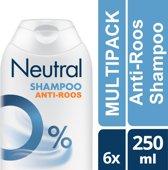 Neutral anit-roos  - 250 ml - shampoo  - 6 st - voordeelverpakking