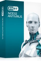 ESET NOD32 Antivirus 8 - 1 Gebruiker/ 2 Jaar/ DVD