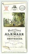 Wandelkaart van Alkmaar en omstreken, 1883