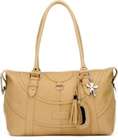 Little Company - Black Label Totem Tote Bag Luiertas - Camel