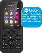 Nokia 130 - Lebara Prepaid - Zwart