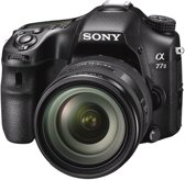 Sony Alpha SLT-A77 II + 16-50mm - Spiegelreflexcamera - Zwart
