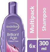Andrélon colour care  - 300 ml - shampoo - 6 st - voordeelverpakking