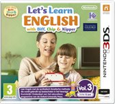 Let's Learn English with Biff, Chip & Kipper Vol. 3 3DS