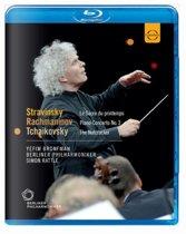 Bronfman/Berliner Philharmoniker - Rattle Conducts Tchaikovsky, Stravi
