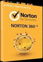 Symantec Norton 360/1 gebruiker/ 3 apparaten/Product zonder DVD