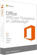 Microsoft Office 2016 Home & Business - Nederlands / Frans / Engels