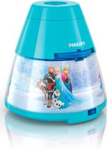 Philips Disney Frozen - Nachtlampje/Projector - LED - Blauw