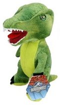 Pluche groene dinosaurus knuffel 23 cm