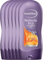 Andrélon perfecte krul  - 300 ml - conditioner - 6 st - voordeelverpakking